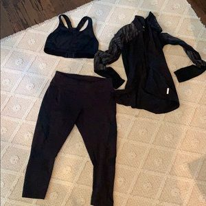 3 piece medium Zella outfit